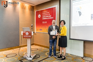 Dario R. Dekel Felicitated by Carolina Belver
