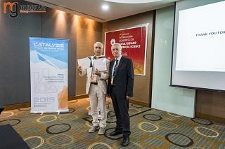 Mohammed Bettahar Felicitated by Stanislaw Dzwigaj