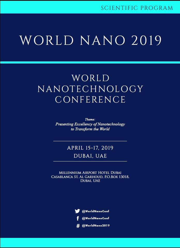World Nanotechnology Conference | Dubai, UAE Program